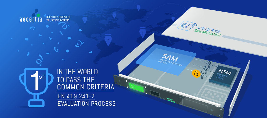 Ascertia First in the World to Pass the Common Criteria EN 419 241-2 Evaluation Process