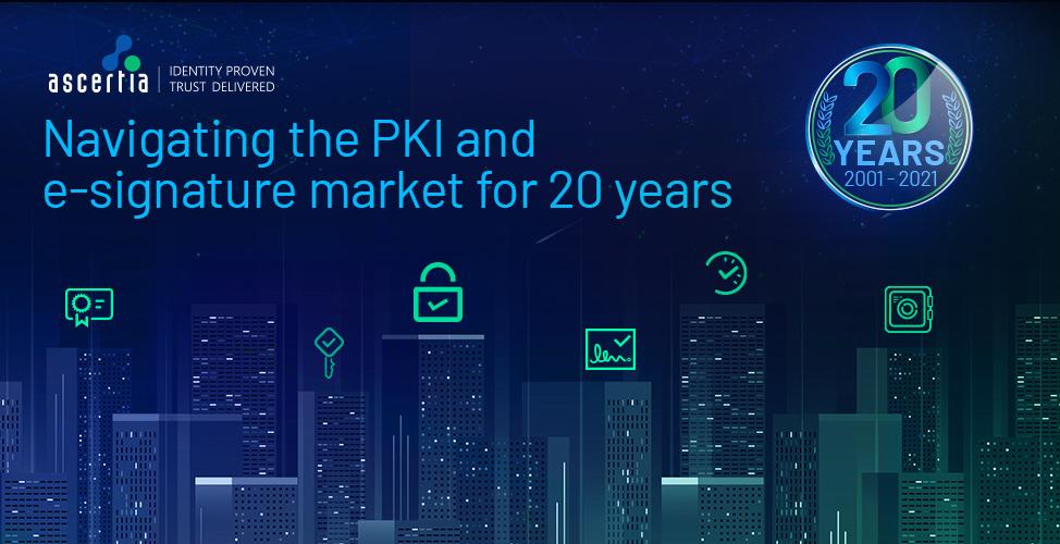 PKI eSignatures 20th Anniversary